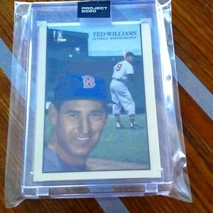 2/$20 Topps Project 2020 Boston Red Sox